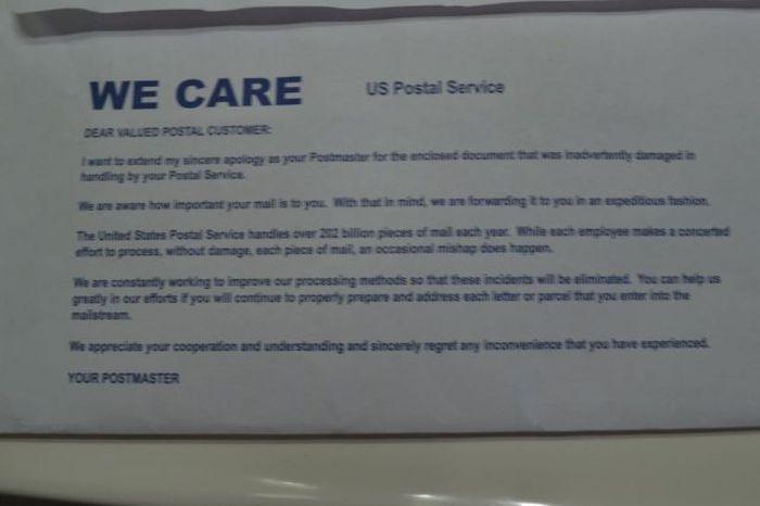 USPS Cares