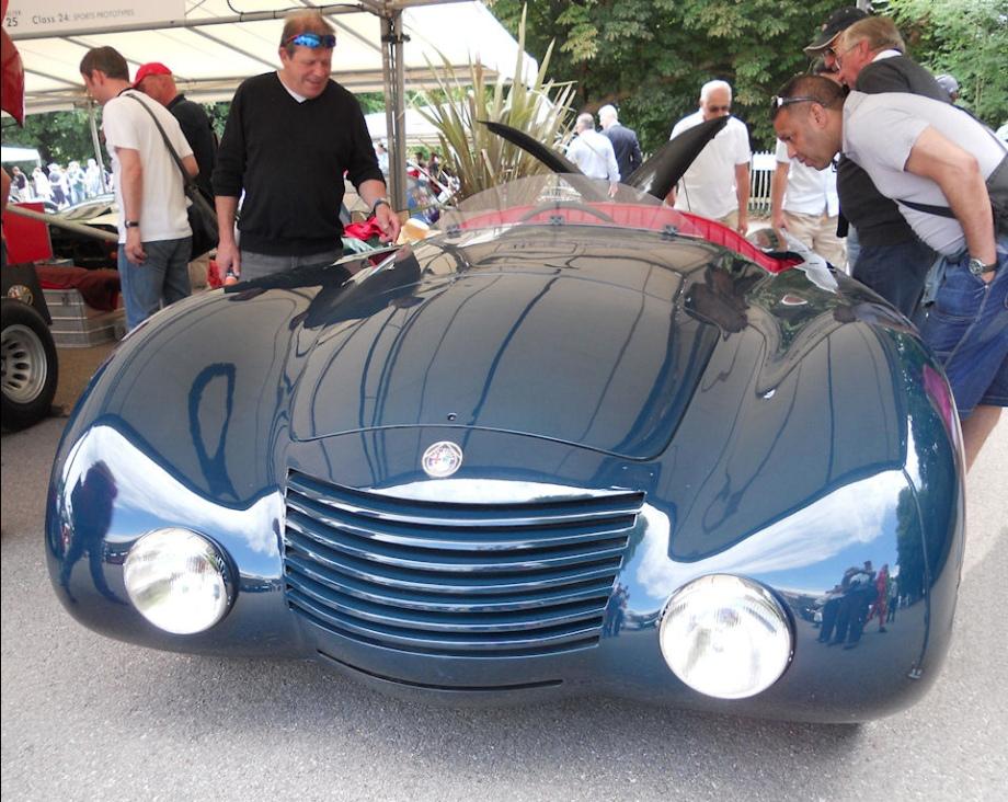 Alfa Romeo Aerodinamica Spider
