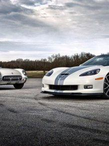 Chevrolet Corvette - anniversary 60 years