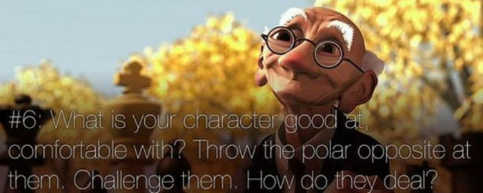 Pixar's Rules of Storytelling