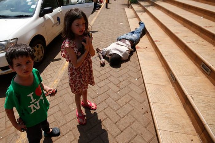 4-Year-Old British Boy vs Nairobi Terrorists
