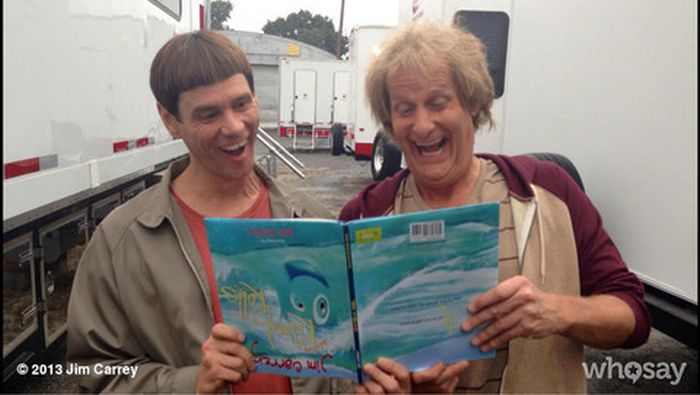 On the Set of Dumb and Dumber To