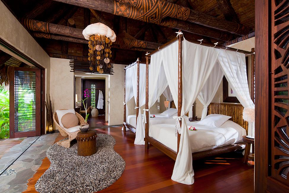 Luxury hotel on a private island of Fiji