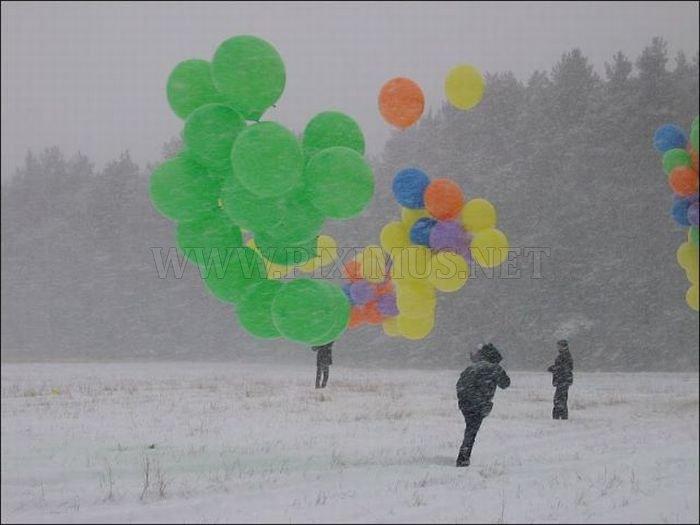 Toy Balloons Flight