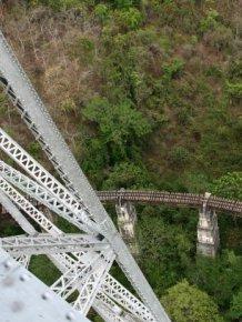Goteik Viaduct in Myanmar