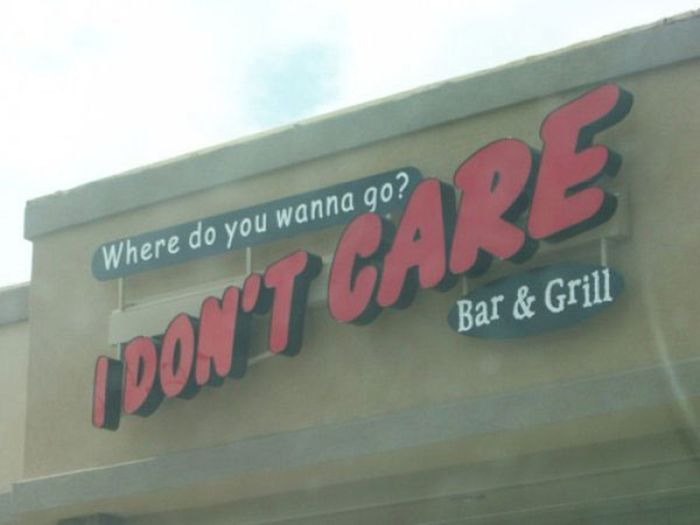 Trully Unbeliavable Restaurant Names