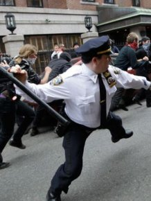 Police Officers at Work
