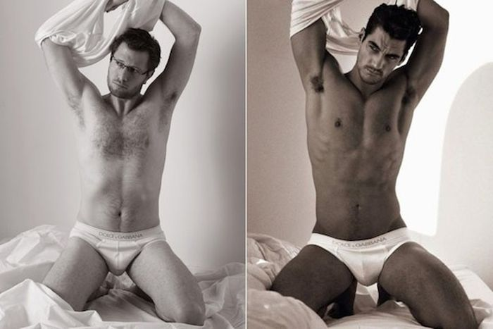 How Ordinary Men Would Look in Underwear Ads