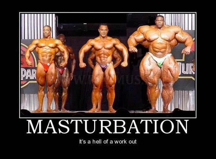 Funny Masturbation Demotivational Posters
