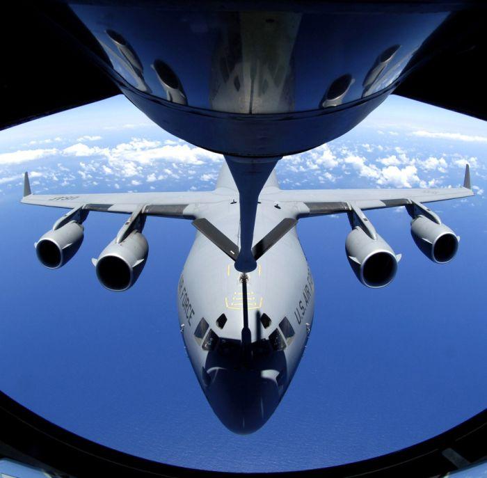 Boeing KC-135 Stratotanker at Work