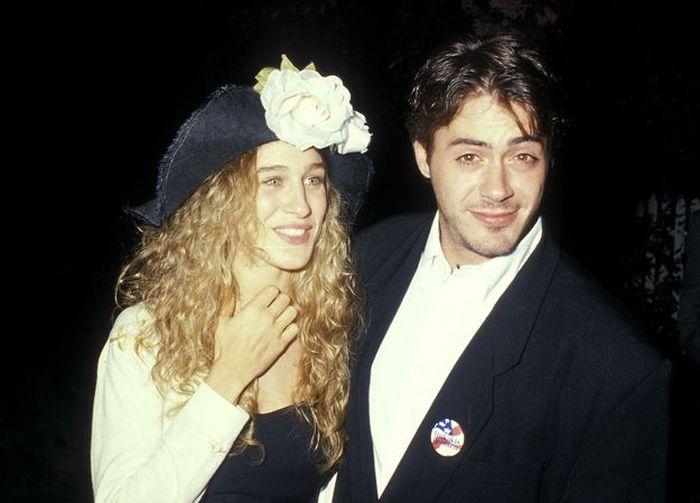 Sarah Jessica Parker and Robert Downey Jr.