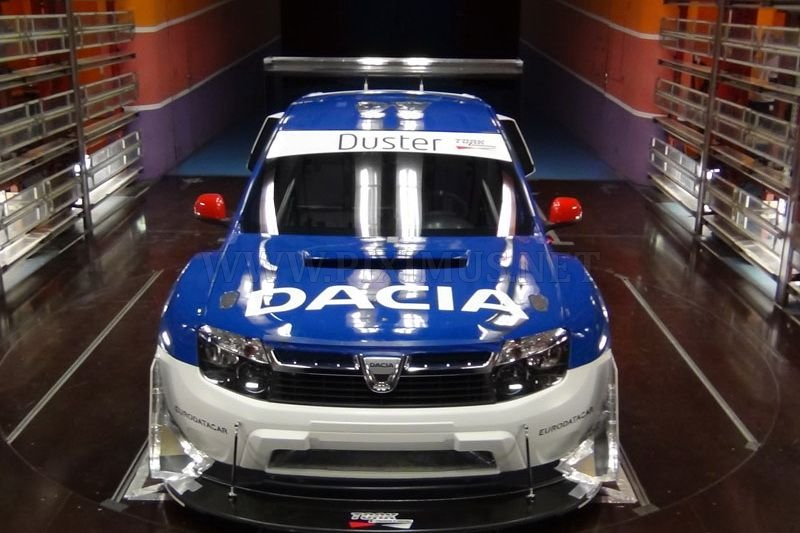 Rally Dacia Duster With Engine From Nissan Gt R Vehicles