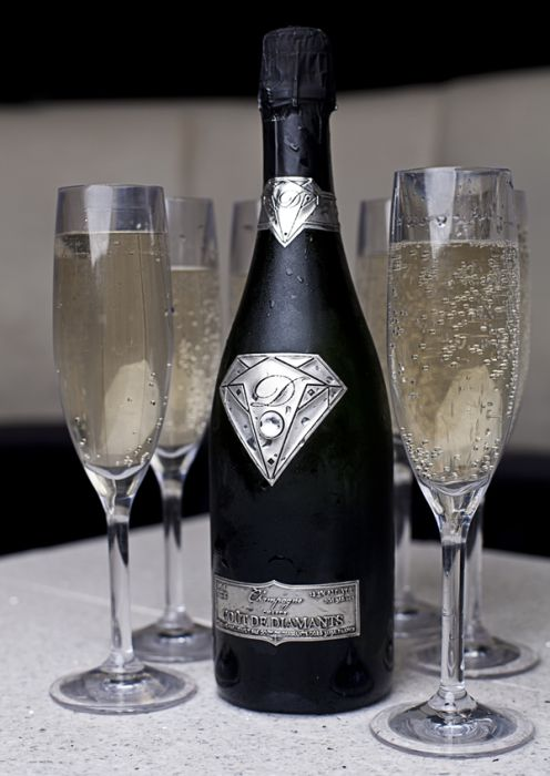 Taste of Diamonds, the World's Most Expensive Champagne