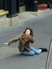 Scarlett Johansson Falling Down Meme