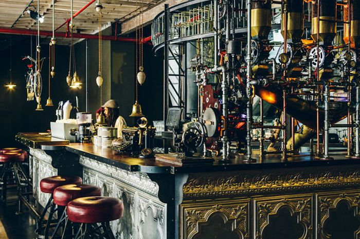 Steampunk Cafe in South Africa