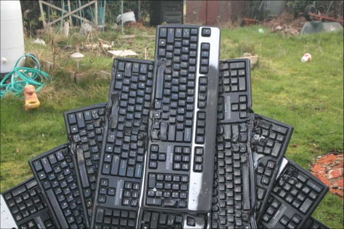 Keyboard Throne
