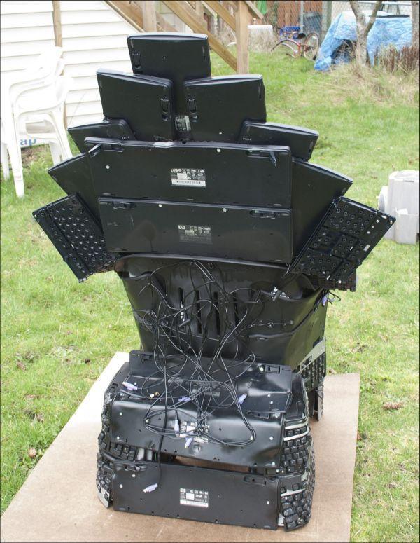Keyboard Throne