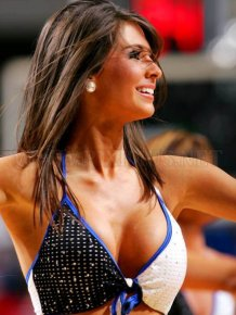 Cleavage Gallery of NBA Finals Dancers
