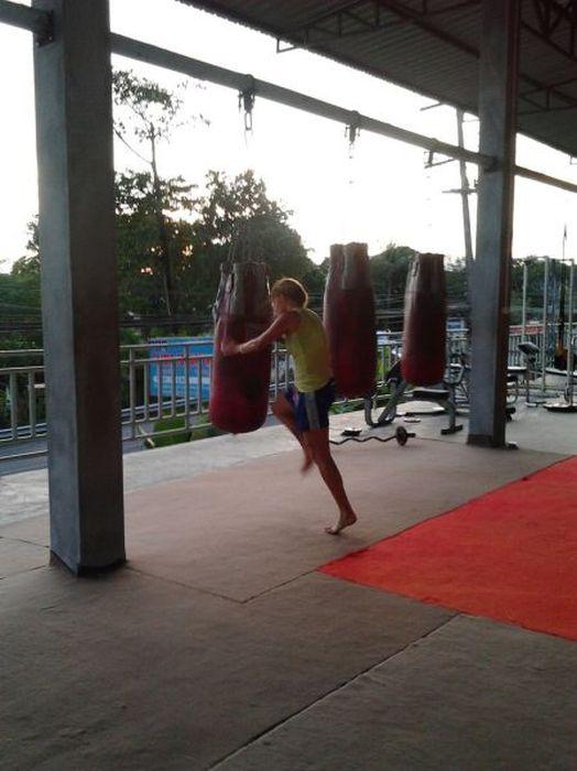 Anastasia Yankova, Pretty Muay Thai Champ