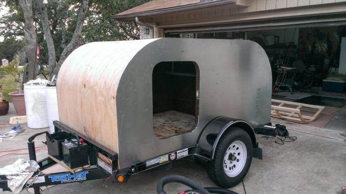 Diy Camping Trailer Vehicles