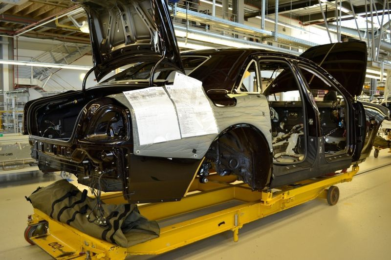 Rolls-Royce plant in Goodwood