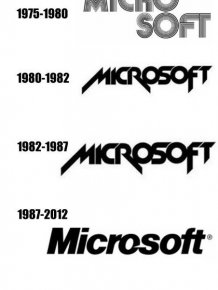 Company logos evolution