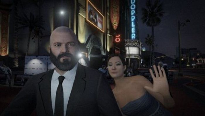 The Best Selfies from GTA V