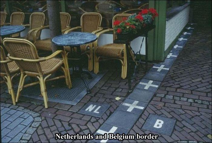 Boders Around the World