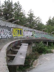 Abandoned Sarajevo Olympic Bobsleigh Track