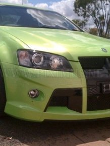 Crashed His New Holden HSV W427 15 Minutes After the Purchase