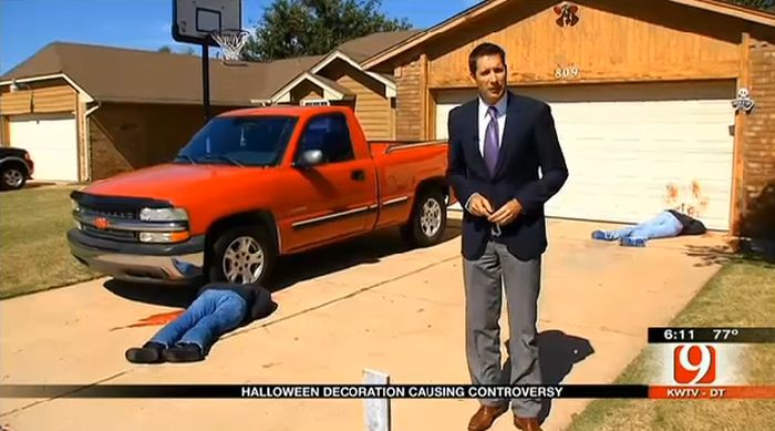 Halloween Decorations Causing Controversy