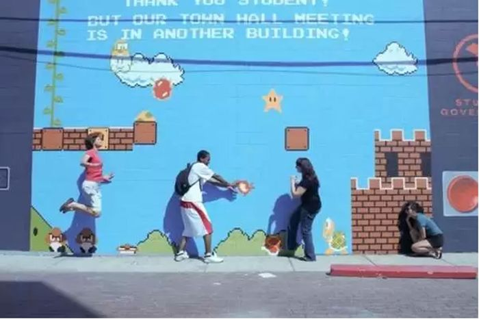 Video Game Grafitti