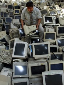 When the electronics goes in the trash