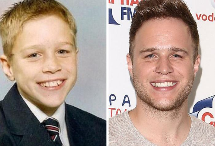 Music Stars Then and Now