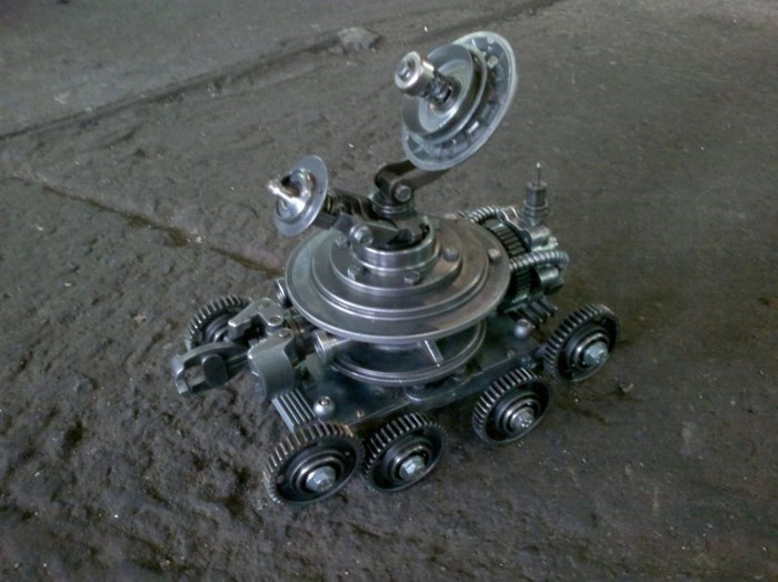 Steampunk Gadgets Made Out of Auto Parts