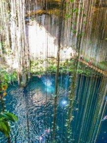 Cenotes of the Yucatan Peninsula, Mexico