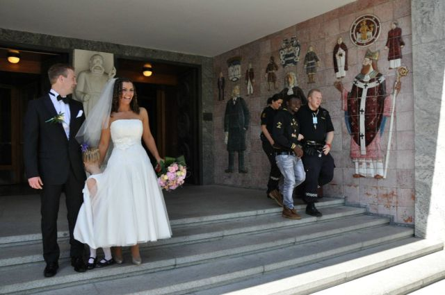 Unusual and Funny Weddings
