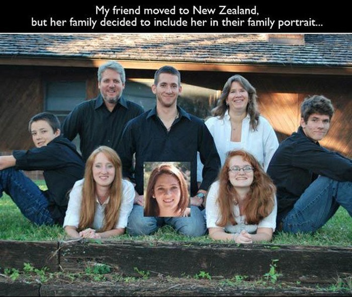 Weird Family Portraits