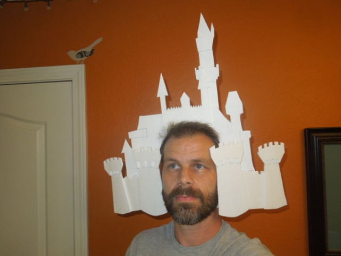 Disneyland Map as Halloween Costume