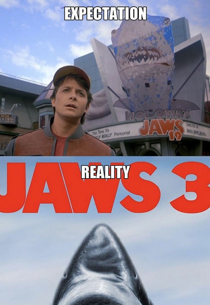 Back to the Future Predictions vs the Reality