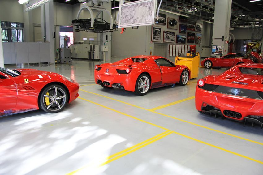 How is made - Ferrari