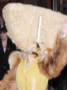 Lady Gaga as a Chicken Nugget