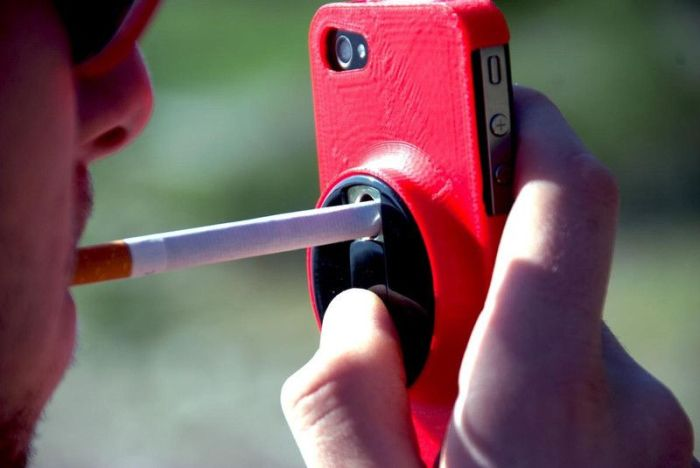 iPhone Case for Smokers