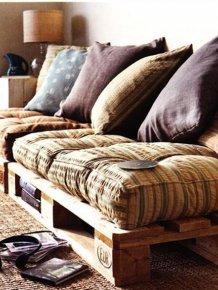 DIY Furniture Out of Old Pallets