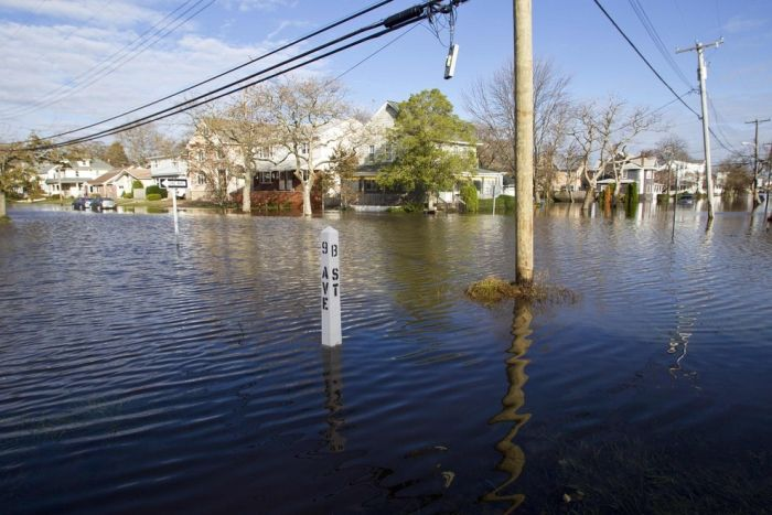 One Year After the Hurricane Sandy