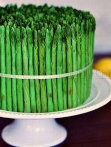 Asparagus Cake