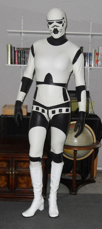 Latex Stormtrooper