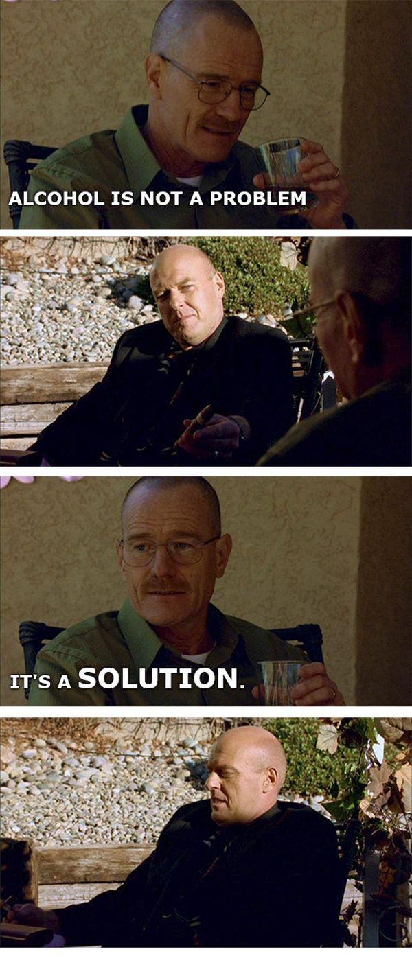Walter White Telling Chemistry Jokes