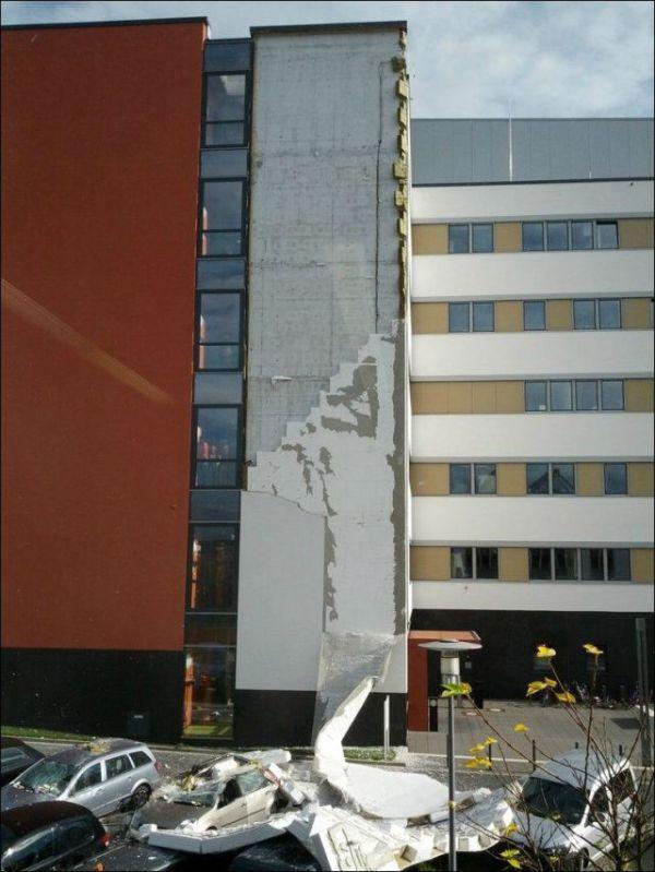 Wall Falls Down