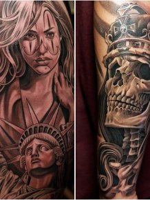 Amazing Tattoos by Jun Cha